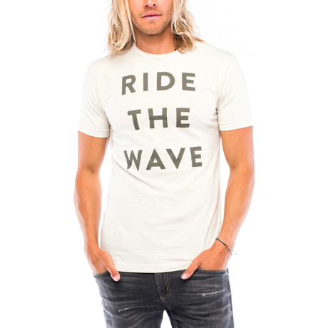 Ride The Wave T-Shirt // White