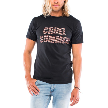 Cruel Summer T-Shirt // Faded Black