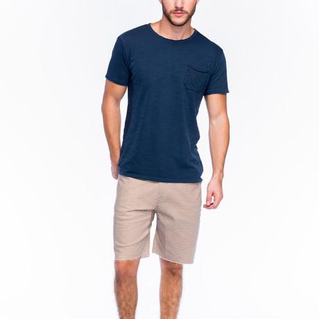 Slub Pocket T-Shirt // Dark Denim