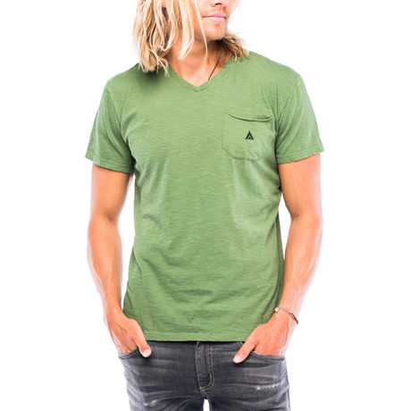 Camping Pocket T-Shirt // Pigment Sage