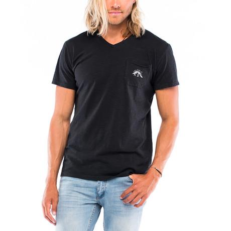 Stego Slub Pocket T-Shirt // Pigment Black