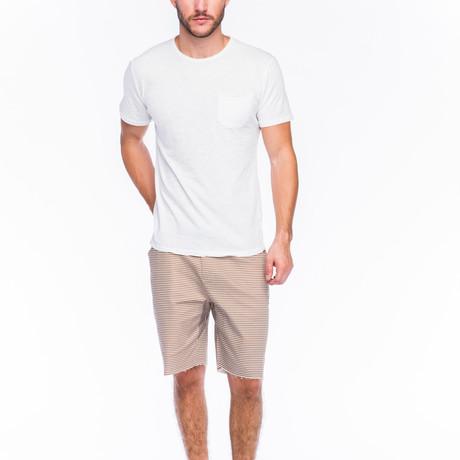 Slub Pocket T-Shirt // White
