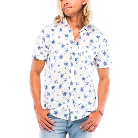 Montauk Short-Sleeve Button Down // White