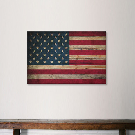 USA Flag // Leather