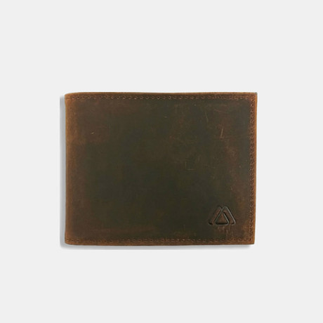 Deuce Billfold Wallet // Crazy Horse Leather