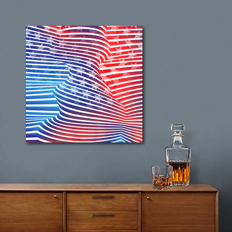 American Twist // Angelo Cerantola // Stretched Canvas