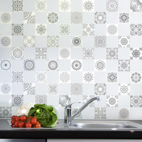 Shade of Grey Design Tiles // 60 ct.