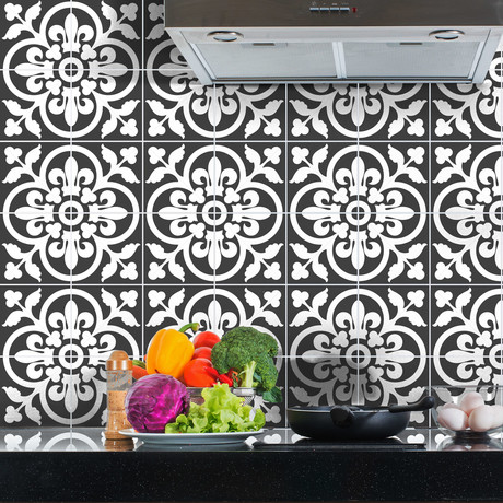 Classic Shade of Grey Tiles // 60 ct.