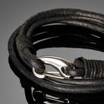 Aion // Cowhide Bracelet (Tan)