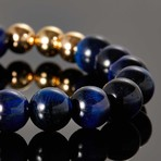 Robiga // Blue Tiger Eye Stone Bracelet
