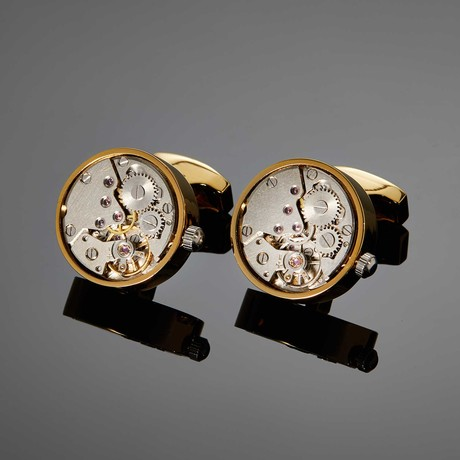 Saint Mark Movement Cufflink // Gold