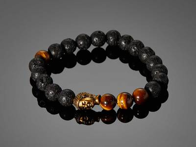 DAPPERMAN Dapper Jewelry Serenity // Igneous by Touch Of Modern - Anniversary Gifts for Him