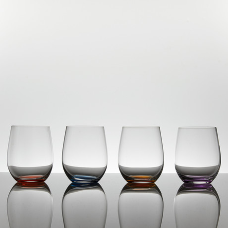 Happy O Vol. 2 // Wine Tumbler // Set of 4
