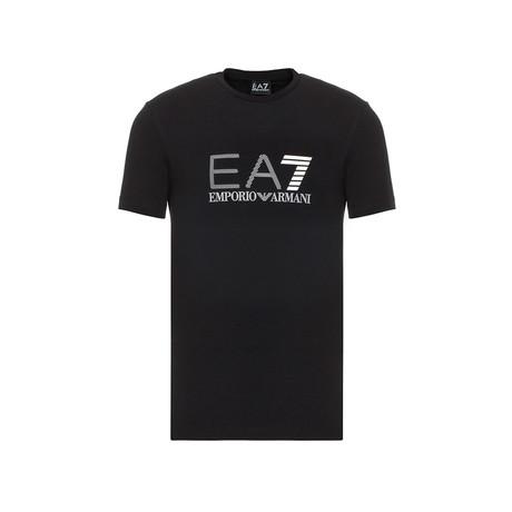 EA7 Linear Logo Graphic Tee // Black (XS)