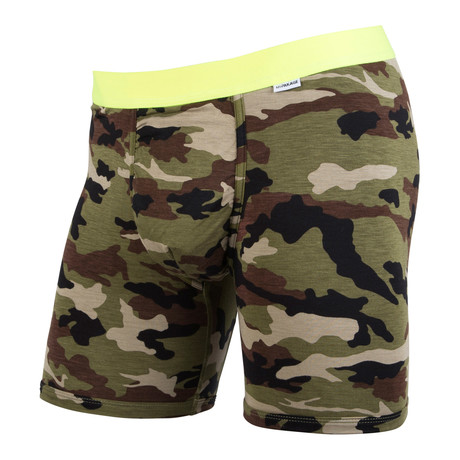 Weekday Boxer Brief // Camo + Yellow