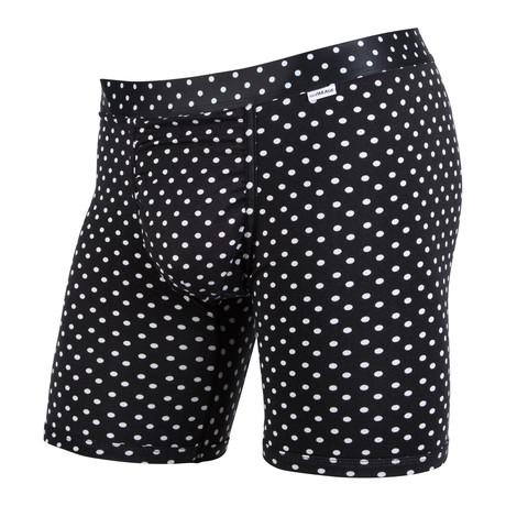 Weekday Polka Dot Boxer Brief // Black + White