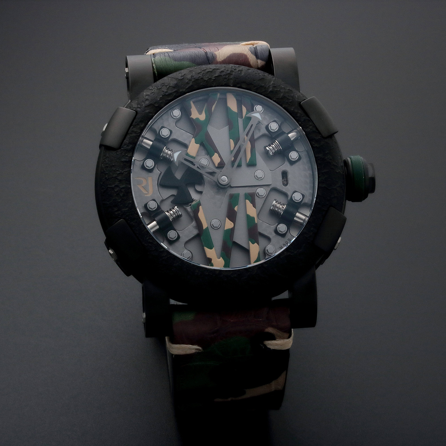 Romain jerome automatic limited edition rj t au sp for Jerome girard