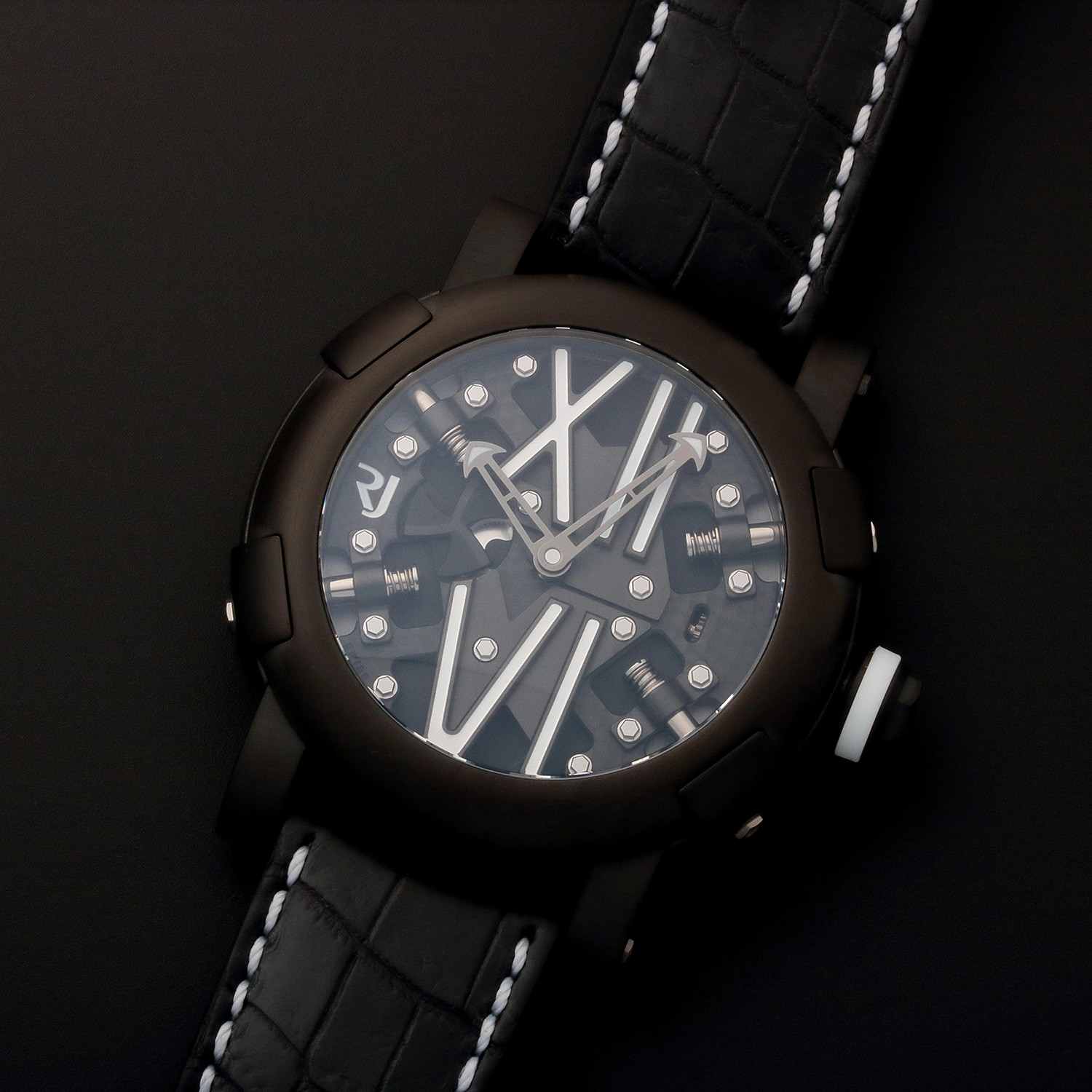 Romain jerome dna automatic limited edition rj t au for Jerome girard