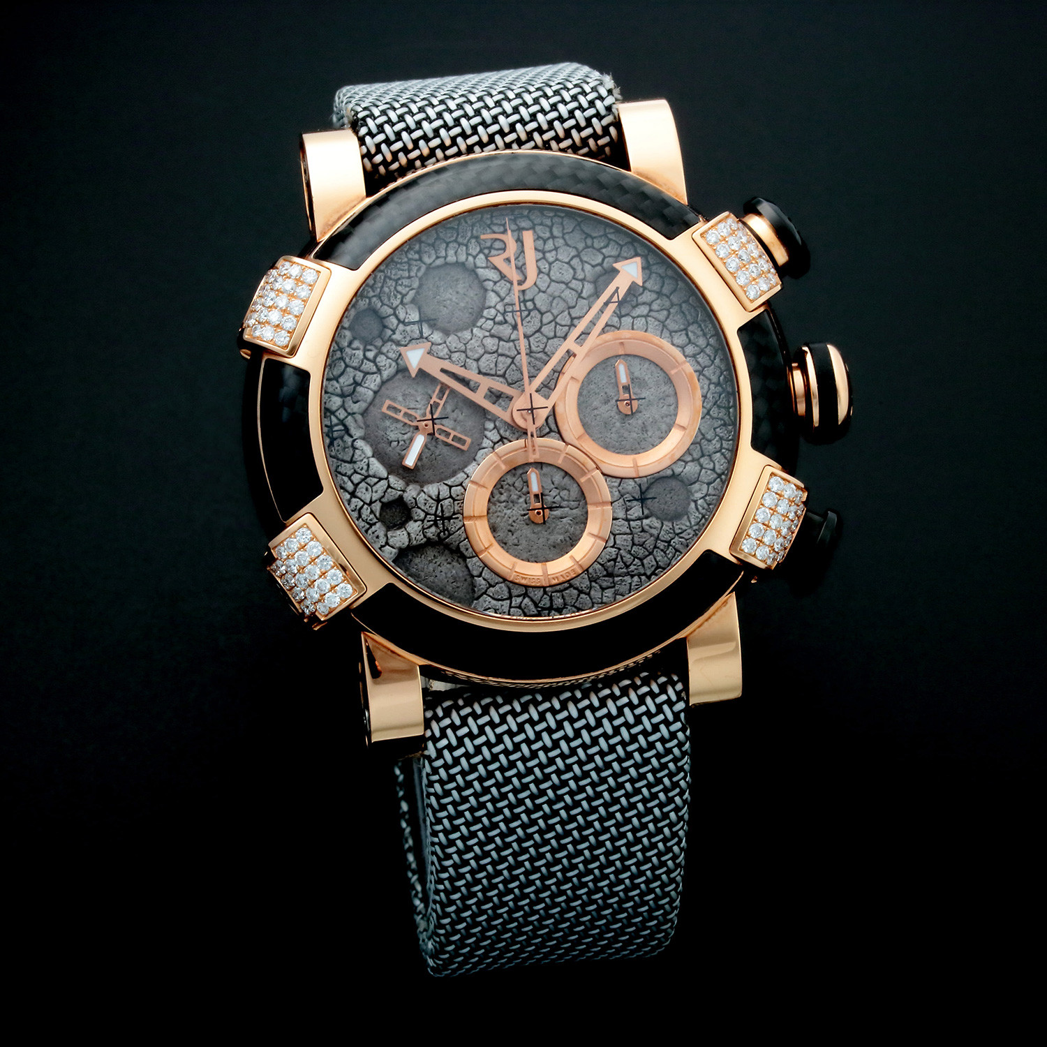 Romain jerome titanic dna moon dust automatic limited for Jerome girard