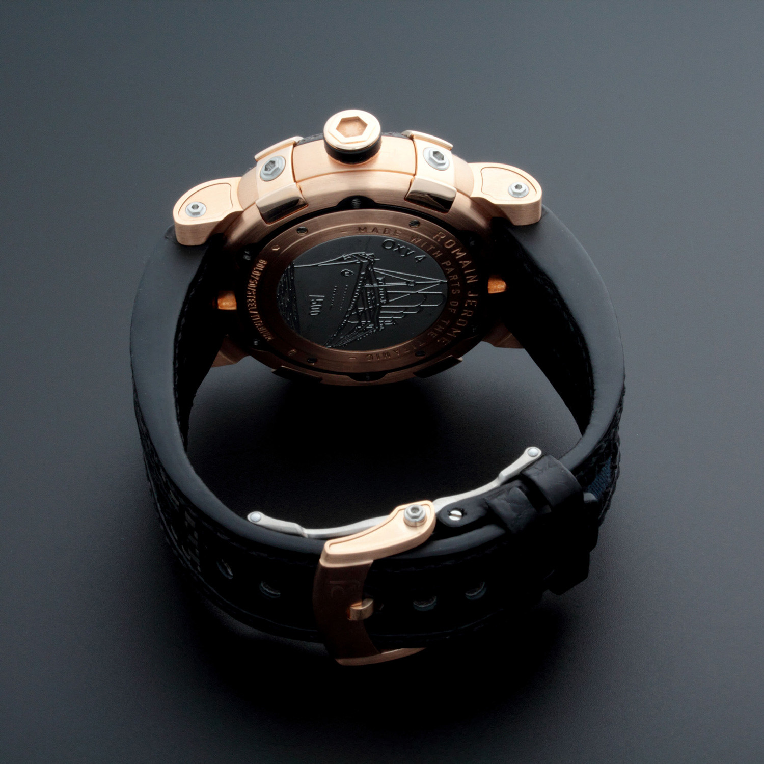 Romain jerome titanic automatic limited edition t for Jerome girard