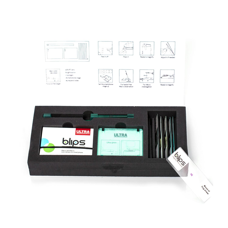 Ultra Lab Kit // Metal Lenses - BLIPS - Touch of Modern