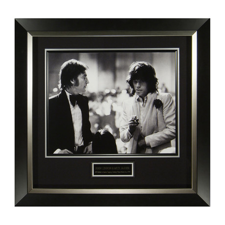 Mick Jagger & John Lennon // Limited Edition // Original