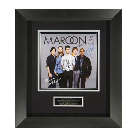 Maroon 5 // Album Flat // Band Signed