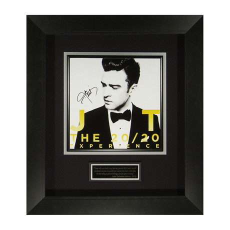 Justin Timberlake // The 20/20 Experience // Autographed