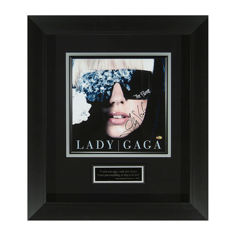 Lady Gaga // The Fame // Autographed