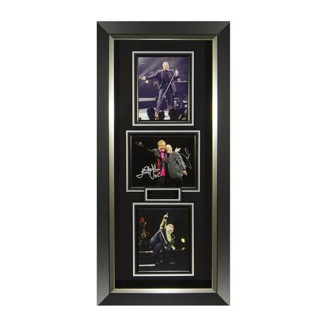 Piano Men Billy Joel & Elton John // Concert Photo // Autographed