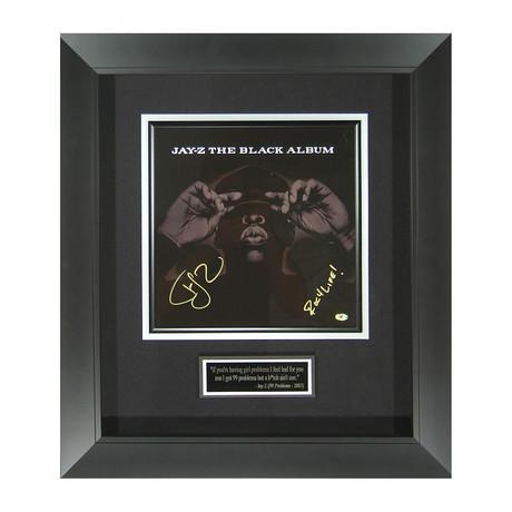 Jay-Z // The Black Album // Autographed