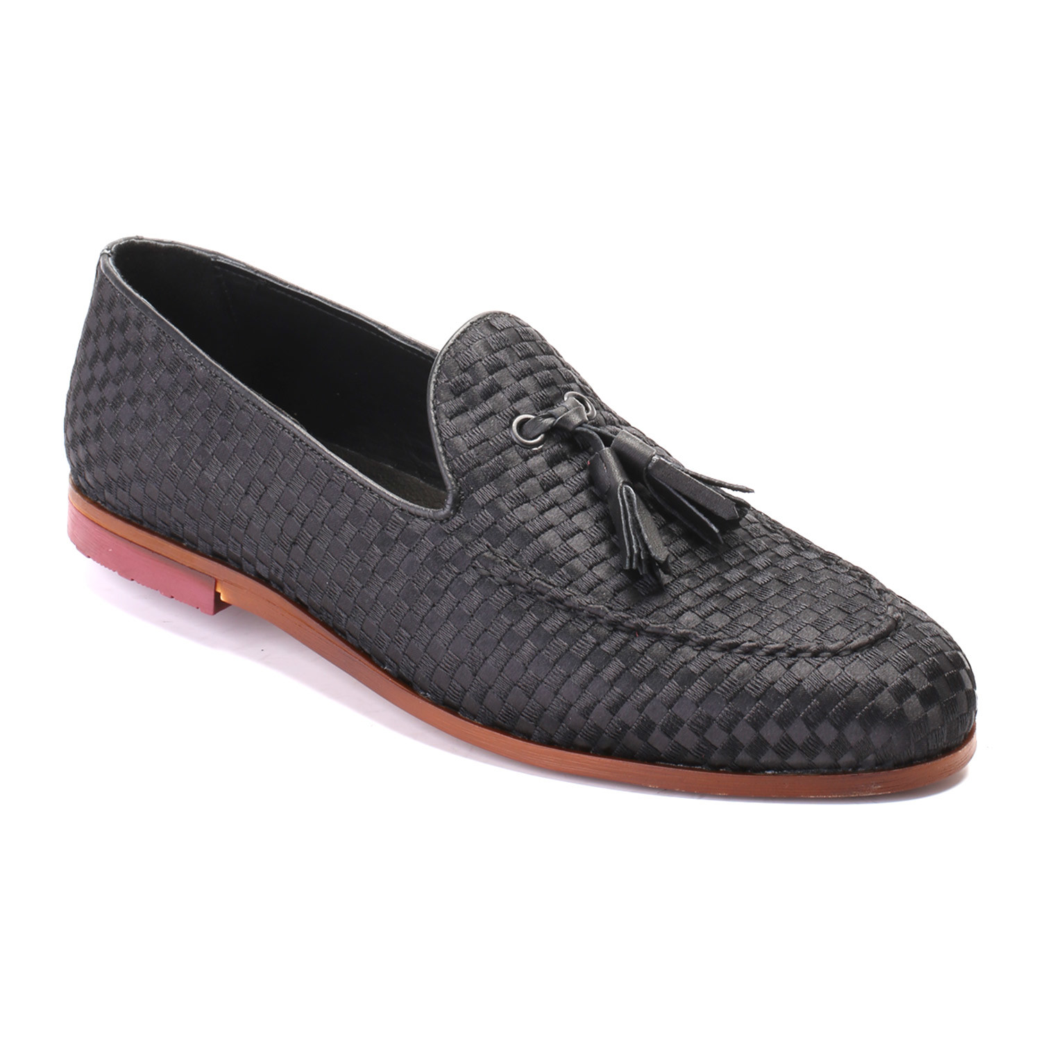 d4c2e88c535 Woven Tassel Loafer    Black (Euro  40) - Eskina - Touch of Modern