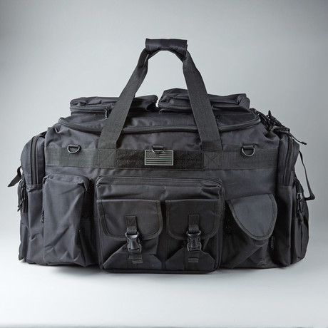 The Tank Duffle Bag // Black