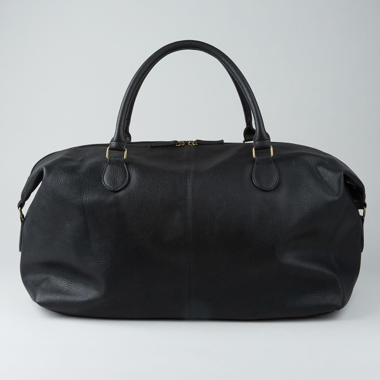 9e13c298e52 Gunner Vegan Leather Duffle Bag    Black - PX Clothing - Touch of Modern