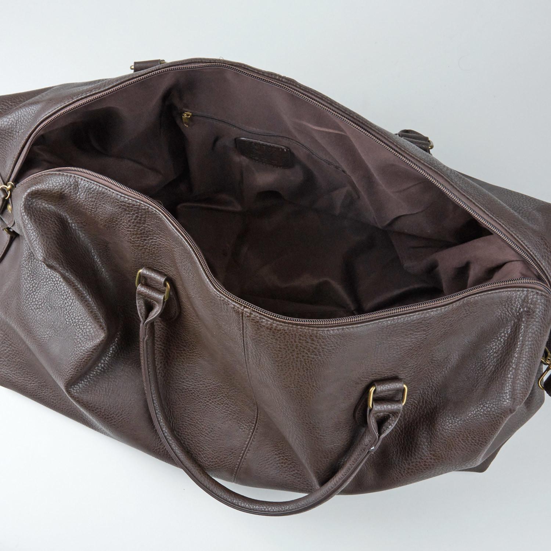 9d35e97c87d Gunner Vegan Leather Duffle Bag    Brown - PX Clothing - Touch of Modern