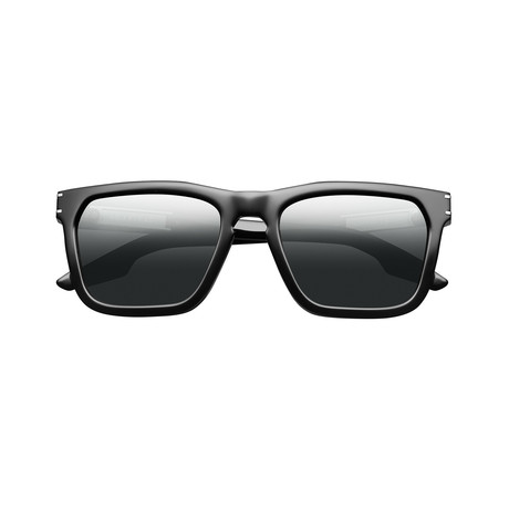 Gravitas // Polished Black + Grey Polarized