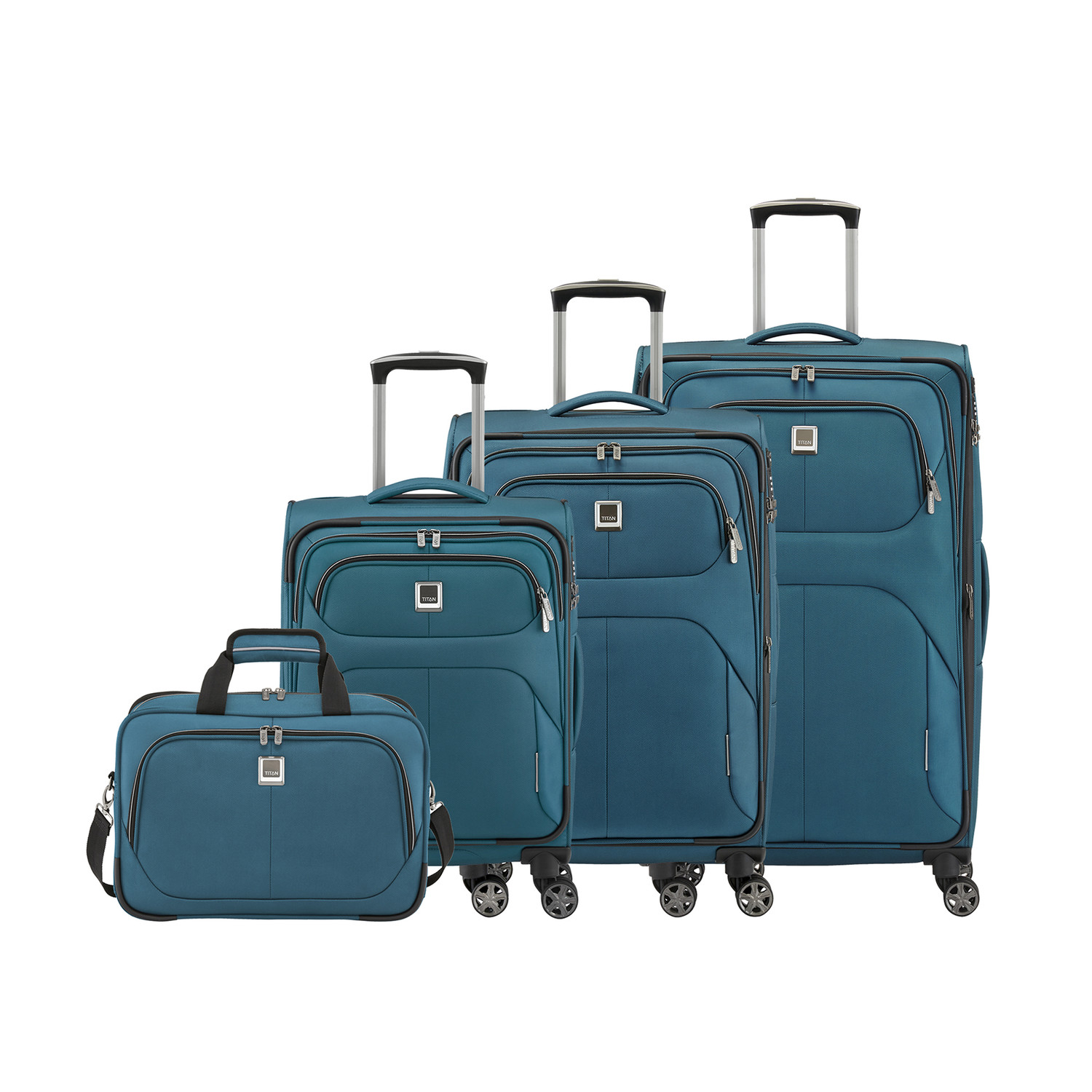 4 wheel trolley small anthracite titan bags touch of modern. Black Bedroom Furniture Sets. Home Design Ideas
