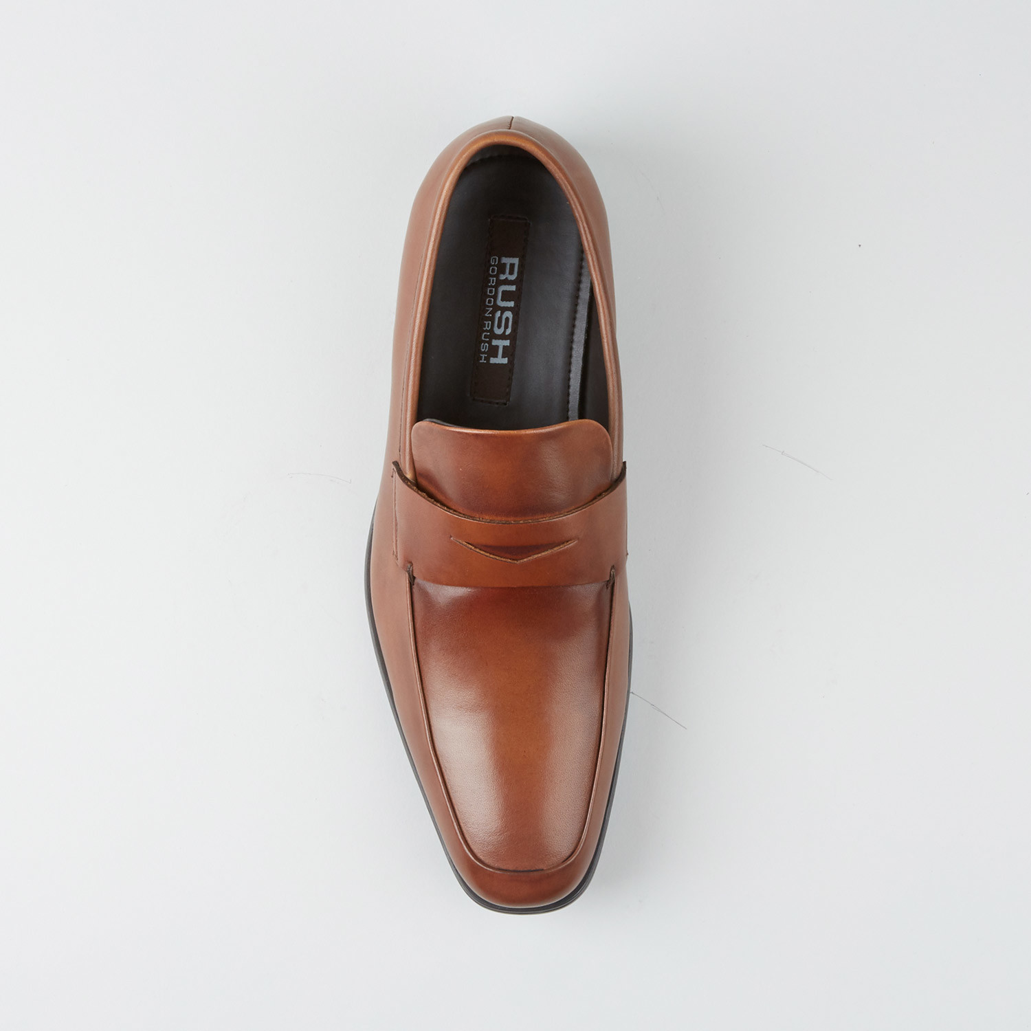 6b87f75a0b9 Smith Penny Loafer    Cognac (US  7) - Rush By Gordon Rush - Touch ...