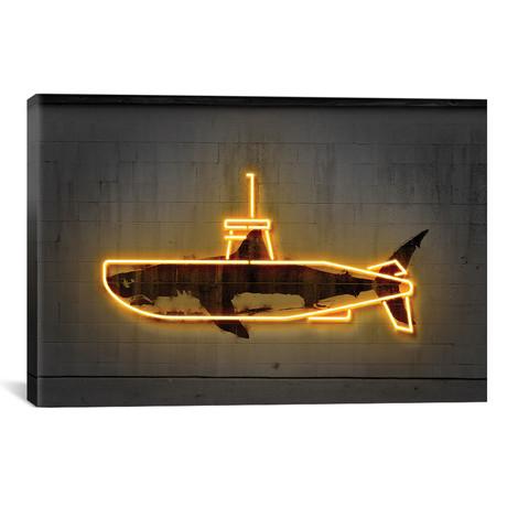 "Yellow Submarine // Octavian Mielu (18""W x 12""H x 0.75""D)"