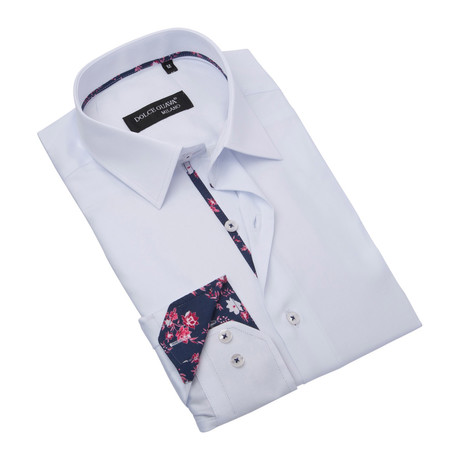 Button-Up // White (S)