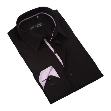 Classic Button-Up // Black (S)