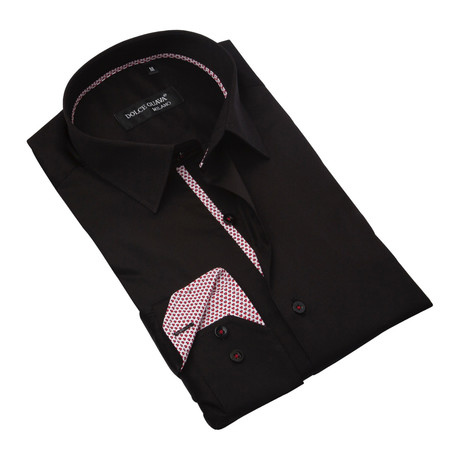 Button-Up // Black (S)