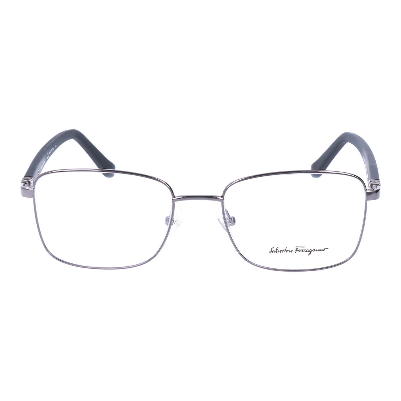 a9a47b04da7 Square Thin Metal Frame    Silver - Ferragamo - Touch of Modern