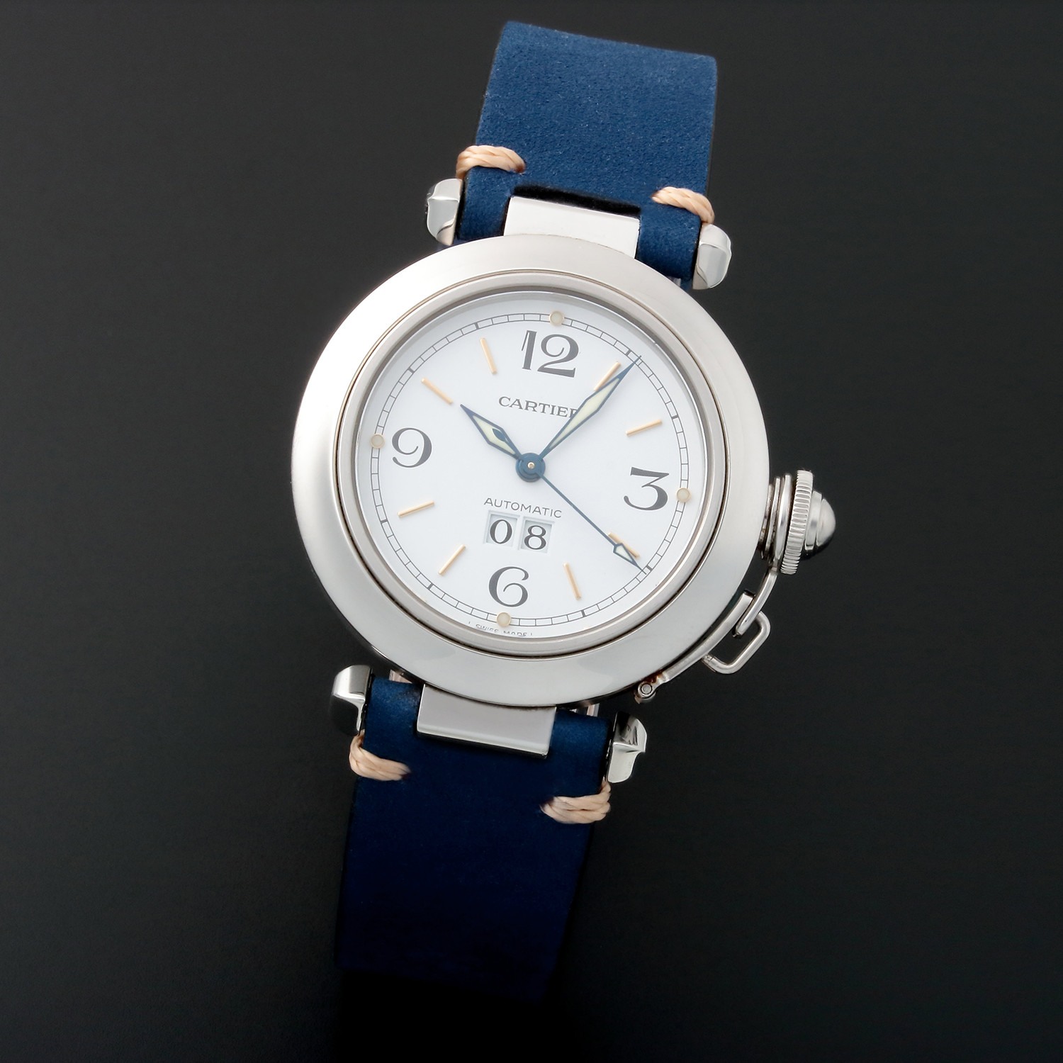 Cartier Pasha Big Date Automatic 2475 Pre Owned
