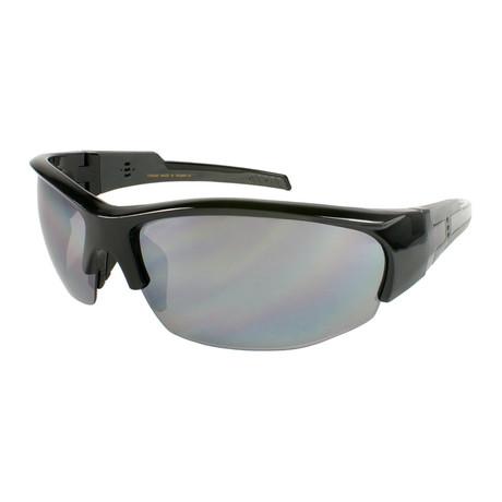 Falcon // Tr90 Shiny Black + Gray