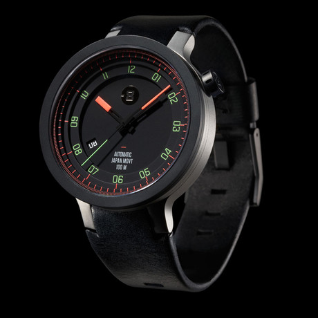 Minus 8 Layer Leather Automatic // P024-003-BSB-LR