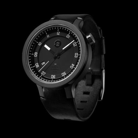 Minus 8 Layer Leather Automatic // P024-003-DBW-LR