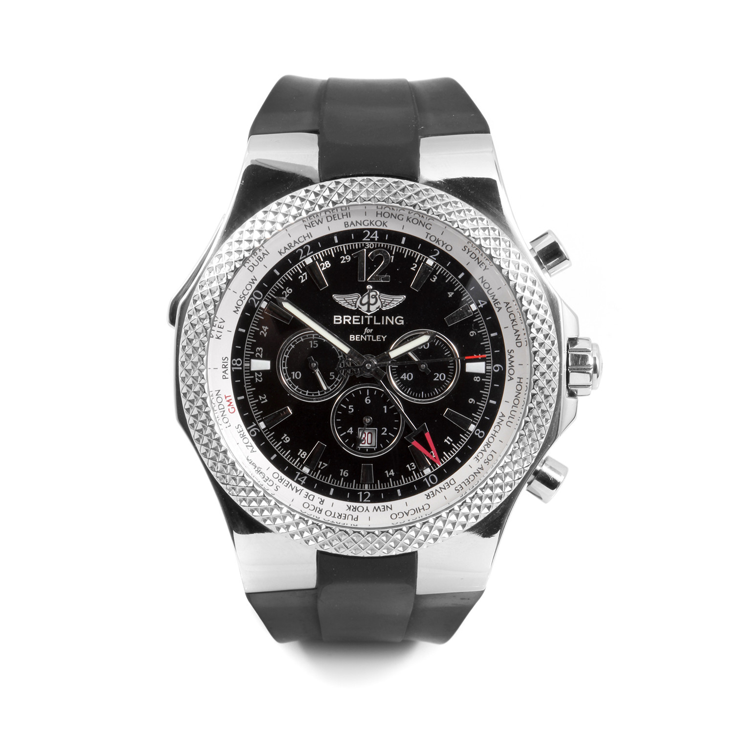 Breitling Bentley GMT Chronograph Automatic // A47362