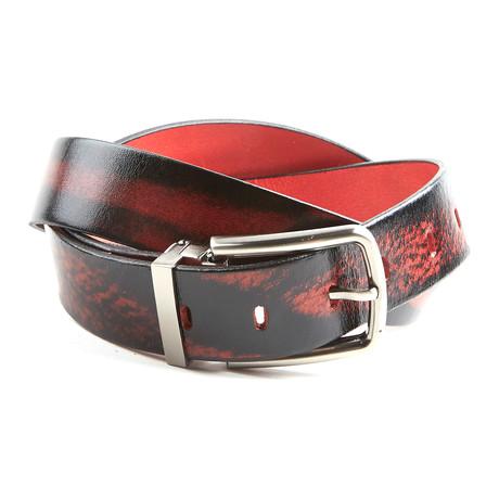 Antique Belt // Red