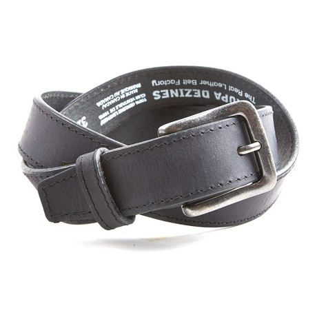 Rustic Belt // Black